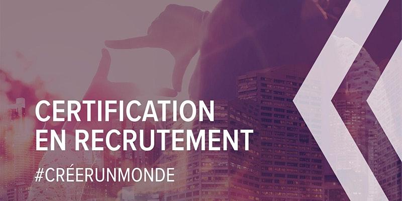 Certification en recrutement | Devenez expert recruteur de talents
