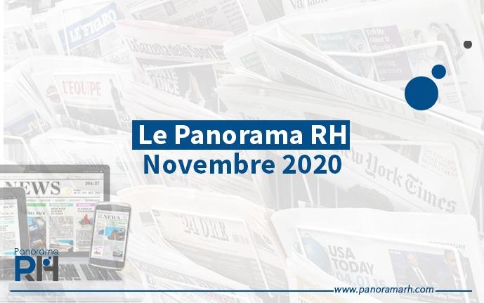 Les 7 clés de l'actualité RH du mois de Novembre 2020